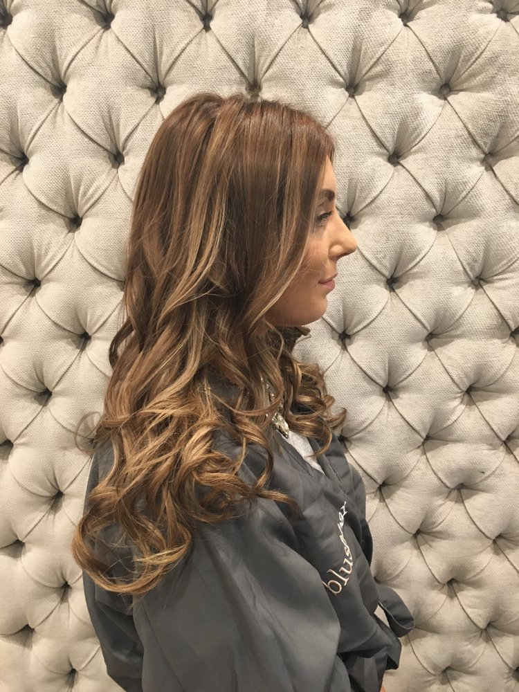 Balayage and Root Smudge